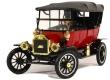 1:18 Ford Modelo T Capota Blanda (Rojo) 1915