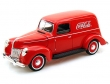 1:18 Ford Sedan Coca-Cola Carro de Reparto 1940