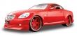 1:18 Lexus SC 430 AllStars Rojo