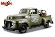 1:25 Ford F-1 1948 & Harley-Davidson WLA Flathead 1942 (Militar)