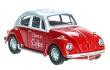 1:43 Volkswagen Beetle Coca-Cola 1966 (Rojo)