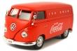 1:43 Volkswagen Transporter Cargo Van 1962 (Rojo)