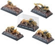 1:87 CAT At Work Display 4 Assorted Models (12 pieces)