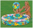 """Conjunto Piscina Inflable 52"""" x 11"""" Fishbowl"""