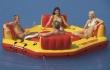 """Flotador Lounge 120"""" x 120"""" x 28"""" Pacific Paradise"""