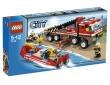 LEGO City Camión Todoterreno y Lancha de Bomberos