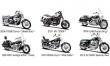 Moto 1:18 Harley-Davidson Serie 32