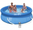 """10' x 30"""" Easy Set Inflatable Pool with Filter Pump"""