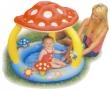"""40"""" x 35"""" Mushroom Baby Inflatable Pool"""