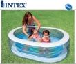 "64"" x 42"" x 18"" Oval Whale Fun Inflatable Pool"