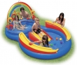 """117"""" x 76"""" x 53"""" Rainbow Ring Play Center Inflatable Pool"""