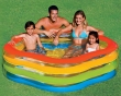 """73"""" x 71"""" x 21"""" Summer Colors Inflatable Pool"""