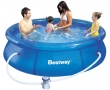 """8' x 26"""" Fast Set Inflatable Pool with Filter Pump"""