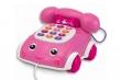 Talk 'n Pull Phone Pink (English)